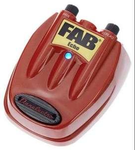 Pedal Efecto Danelectro Fab Echo D4