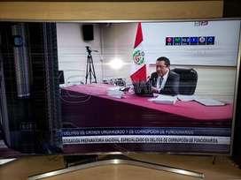 Vendo Televisor 55 Pulgadas Curvo Detall