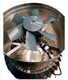 "Extractor Eólico motor 31"""