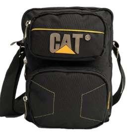 Bolso Carriel Caterpillar Cat Maleta Manos Libres Hombre