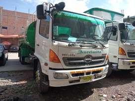 Alquiler camión cisterna