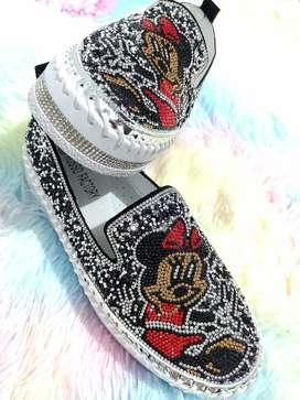 Zapatos Mickey mouse murano