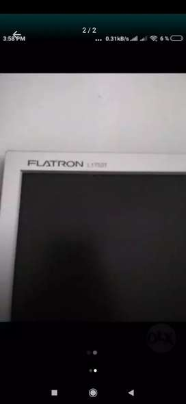 Se vende pantalla LG 17 pulgadas