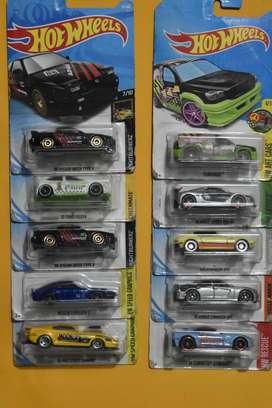 Hot Wheels Lote 10 carros Ediciones Pasadas Nuevos Coleccionables L3