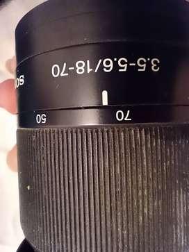 Vendo urgente lente sony
