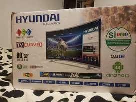 Tv smart curvo para reparar