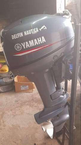 Motor fuera de borda usado marca yamaha 15 hp.2 tiempo.pata corta.todos los papeles.muy buen andar.