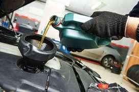 Cambio de Aceite Automotriz Vehiculos a Gasolina