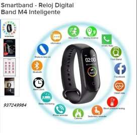Relog Digital M4 band Smart watch