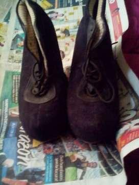 calzado  de dama talla 38 usado