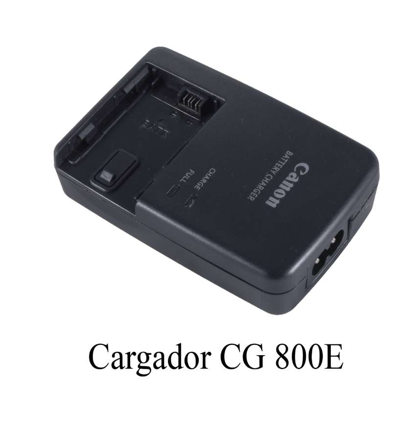 Cargador Cg 800e Para Bateria Canon Bp827 Bp808 Etc