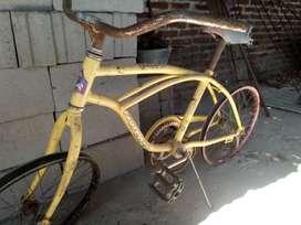 Vendo dos cuadros de bici con las llantas