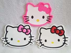 Posa Vaso Rosa Rojo Fucsia Hello Kitty
