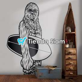 Vinilo Starwars Chewbacca