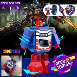 Relojs Transformers 2 modelos