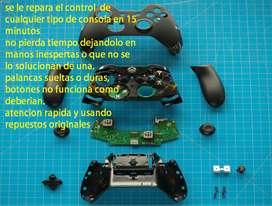 REPARACION CONTROLES DE VIDEO CONSOLAS XBOX Y PS4