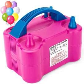 Bomba para inflar globos eléctrica inflador de globos portátil Automática