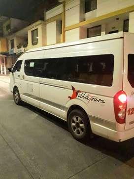 Servicio transporte turismo vans