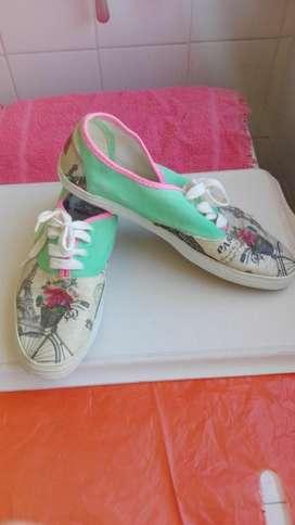 Zapatillas zapatos calzado 40 alpargatas
