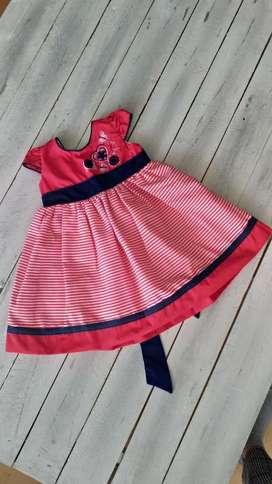 Vestido para Niña entre 1 Año Y 1 Y 1/2