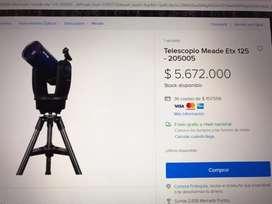 Telescopio Meade ETX125