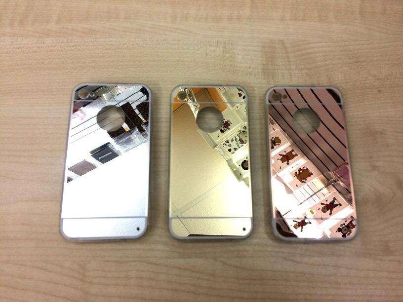 Funda Espejo Silicona iPhone 4,4S 0