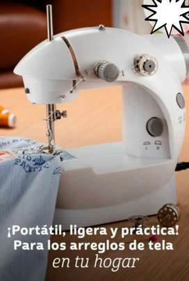 Vendo maquina de coser, portatil totalmente nueva