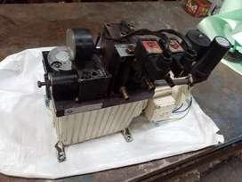 Unidad hidráulica dual