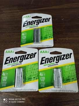 Baterías Recargables Triple AAA