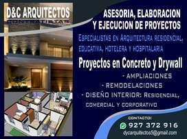 ARQUITECTOS - DISEÑO Y CONSTRUCCIÓN