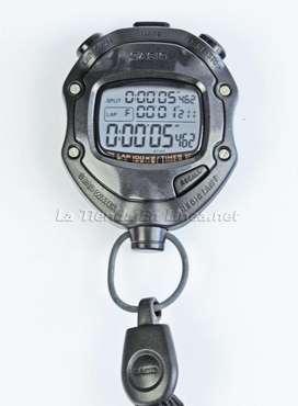 Cronometro Casio Hs-80tw ,100 Tiempos,timer,contador, Reloj
