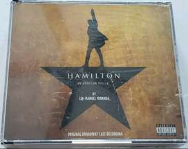 Hamilton: An American Musical (Original Broadway Cast Recording, 2 Cds, $20)