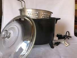 """Olla freidora y para cocinar al vapor electrica """"Presto Kitchen Kettle"""""""
