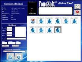 Software de Citofonia Virtual FONOSOFT
