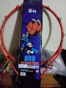 Aro de basket sin resorte