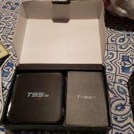 Tv box transforma su tv en un celular o en videojuegos