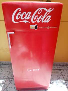 Refrigeradora de colección Coca Cola General Electric