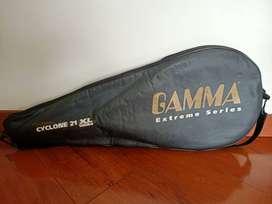 Raqueta de tennis. Gamma Cyclone 21 XL