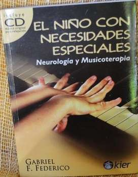 EL NIÑO CON NECESIDADES ESPECIALES NEUROLOGÍA Y MUSICOTERAPIA LIBRO CD en LA CUMBRE PUNILLA