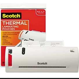 Laminadora térmica scotch