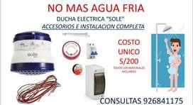 DUCHAS ELECTRICAS SOLE