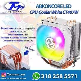 Disipador RGB para procesador