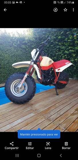 Yamaha big wheel 350 pra la arena