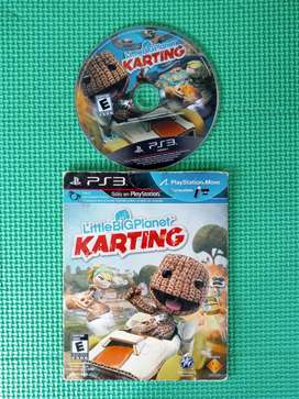 Juego para PS3 - Little Big Planet Karting