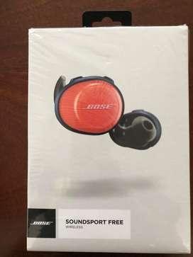 Audifonos inalambrico BOSE soundsport free nuevos