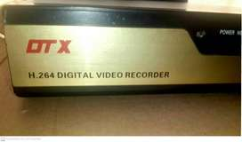 DVR DTX de 4 canales, entrada VGA, resolución 1280x1024 pixeles