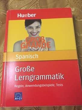 Libro de gramatica española para alemanes