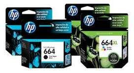 Cartucho de Tinta HP 664 Negro y color nuevo Original