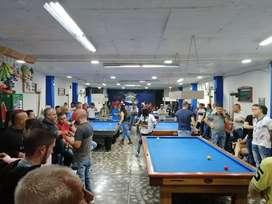 VENDO CLUB DE BILLARES