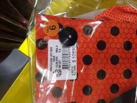 Vendo Disfraz Lady Bug Talla 6